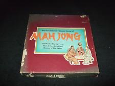 MAH JONG - ORIGINAL VINTAGE TILE GAME