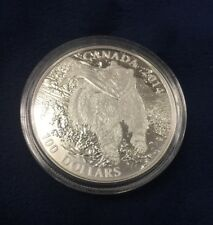 Canada 2014 Wildlife in Motion #2 $100 Commemorative Grizzly Bear Pure Silver