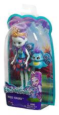 Mattel - Enchantimals, Pfauenmädchen Pippa Peacock, Puppe, OVP, Neu, DYC76