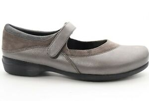 Abeo Amie  Mary Janes Slip Resistant Pewter Women's Size  7 ()
