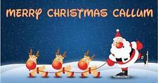 Personalised Christmas Chocolate Bar Wrapper Stocking Filler Secret Santa Gift