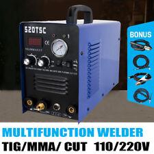 520TSC 3in1 Plasma Cutter 110/220V TIG/MMA/CUT DC household Welding Machine