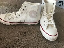 Ladies Convers Knitted High Tops Brand New In Box Size 6