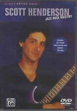 Scott Henderson Jazz-Rock Mastery Guitar Tuition DVD Learn How To Play