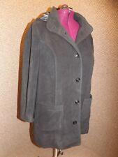 NEW Black Cozy No Pill Fleece Detachable Hood Jacket Coat Womens 20W Super Comfy