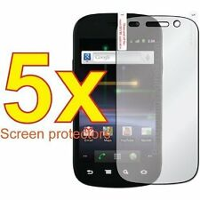 5-pack Crystal Clear Screen Protector for Samsung Nexus 4G
