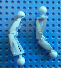 LEGO 43557 BIONICLE - Toa Nuva Leg Section, MEDIUM BLUE. From set 8570