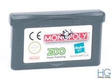 Monopoly - Nintendo Game Boy Advance Retro Cartridge PAL