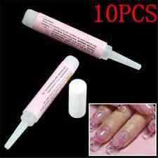 Pro 10PCS 2g Lots Fashion Beauty Nail False Art Decorate Tips Acrylic Glue TR