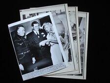 Lot of 4 Original 1948 & 1974 Olga Korbut Wire Photographs