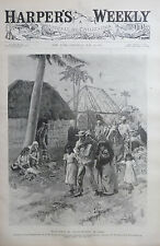 1897 Harper's Weekly Journal Magazine May 29, Cuba, Colored Ivory Soap Ad