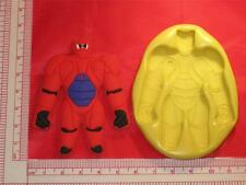 Big Hero 6 Baymax Silicone Mold Food #703 for Candy Cake Chocolate Resin Clay