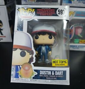 Funko POP! Stranger Things 593# Dustin & Dart Limited Edition Action Figures