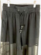Versus Versace Women's Black Pants Size 38