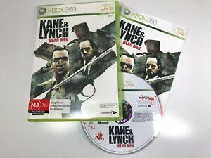 Kane & Lynch *Dead Men* XBOX 360 Video Game Manual VGC PAL