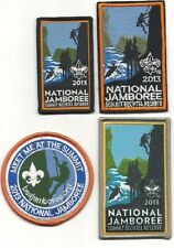 boy scout 2013 national jamboree patches set of 4