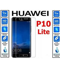Genuine 100% TEMPERED GLASS Ultra HD Screen Protector For Huawei P10 Lite