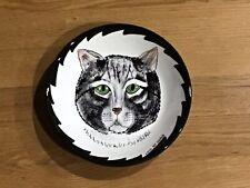 """Cats by Nina Lyman 8"""" Ceramic Bowl"""
