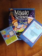 Kids Science Experiment Lot Scientific Explorer Wizard Magic Kit Solar Paper