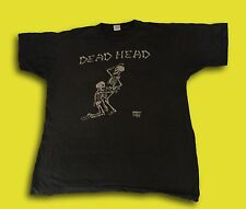 Vintage Rare 90s GRATEFUL DEAD 'Dead Head' Bone Job Music Band Tee T Shirt  M/L