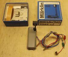 Märklin H0 7042 Signal Gleissperrsignal mit Beleuchtung getestet erstkl. in OVP
