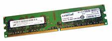Crucial CT25664AA667.16FHZ (2GB DDR2 PC2-5300U 667MHz DIMM 240-pin) RAM Module
