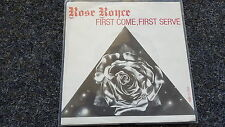 Rose Royce - First come, first serve 7'' Single Holland