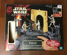 Star Wars Episode 1 Naboo Action Figure/Vehicle Lot-  6 sets w/boxes!