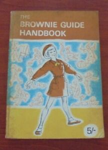 Vintage book The Brownie Guide Handbook 1968 Collectable