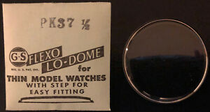 GS Flexo Lo-Dome for Thin Model Watches - Vintage Watch Crystals - Various Sizes