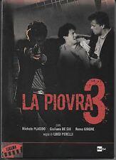 Dvd LA PIOVRA Stagione 03 - (1997) (Box 3 Dischi) Contenuti Speciali ....NUOVO
