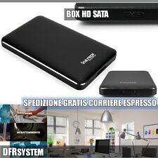 """Y3T1 USB 3.0 HDD SSD SATA esterno in alluminio 2.5/"""" Hard Drive Disco BOX recinto C"""
