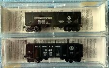 New ListingN Scale Micro-Trains Baltimore & Ohio 33' Twin Bay Hoppers, New/Used