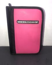 Official OEM Nintendo Gameboy Advance SP Hot Pink Travel Carrying Case