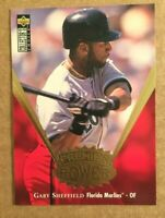 "RARE 1997 COLLECTOR'S CHOICE GARY SHEFFIELD ""PREMIERE POWER"" GOLD (PP10) MINT"