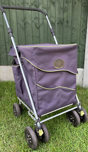 Genuine Sholley Blue Mulberry Shopping Sholley Foldable & Adjustable Used!