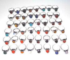 Free Shipping Wholesale Lot 15 Pcs Rings Mix Gemstone Handmade Fashion Jewelry
