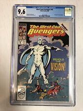 West Coast Avengers (1989) # 45 (CGC 9.6 WP) 1st App White Vision Disney+