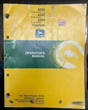 John Deere 4055 4255 4455 Tractors Operator Manual Omar110571 G1 S 5