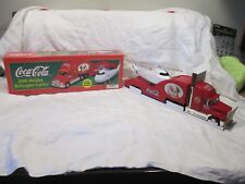 "COCA COLA  SPEEDWAY PROMO 2000 ""HOLIDAY HELICOPTER CARRIER""  SEMI TRUCK NIB"