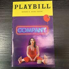 COMPANY Mar 2020 Broadway Playbill! PATTI LUPONE Katrina Lenk SONDHEIM Revival