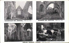 Selby Abbey Fire 1906 x 2. Annesley Church Fire & Kirkby Church Fire. Fires