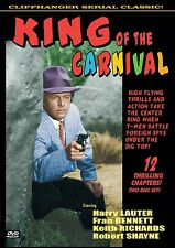 KING OF THE CARNIVAL - Cliffhanger serial! 2 disc HARRY LAUTER, ROBERT CLARKE