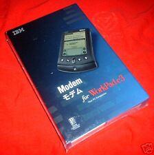 NEW Palm WorkPad c3 Modem IBM 33.6 kbps NIB