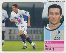 PIERRE DUCROCQ # LE HAVRE HAC DERBY COUNTY STICKER PANINI FOOT 2003 ~