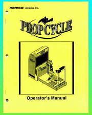 Prop Cycle  Arcade Game Operators Service Manual