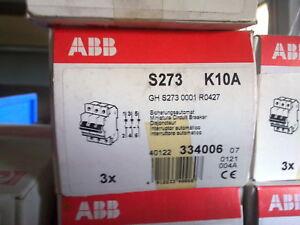 ABB Sicherungsautomat S273 K10A