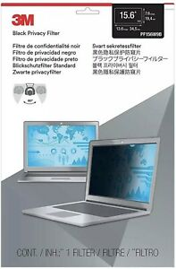 """3M Privacy Filter for 15.6"""" Laptop Widescreen (16:9) Thin and Touch Sensitive"""