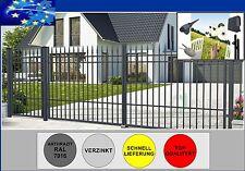 LUXUS ZAUN DOPPELFLÜGELTOR 3,5m Nr.0  Zauntor Gartentor Hoftor Tor Tür