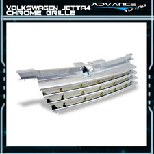 For 99-04 VW Bora Jetta 4 MK4 A4 Front Grille Grill Guards Chrome